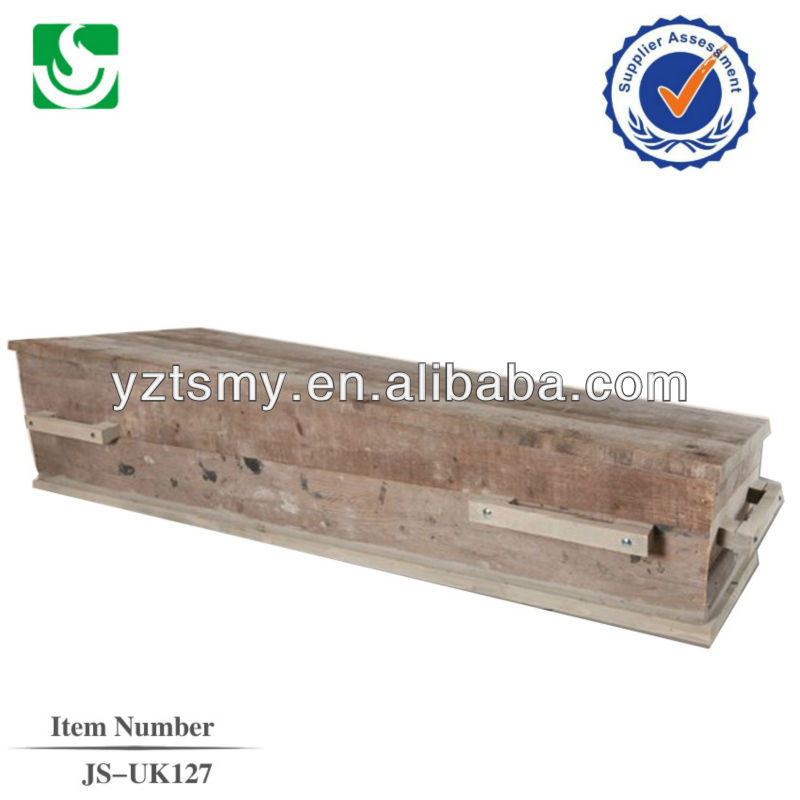 funeral supplies mdf casket coffin
