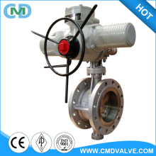 Electric Actuator Remote Control High Pressure Triple Offset Metal to Metal Butterfly Valve