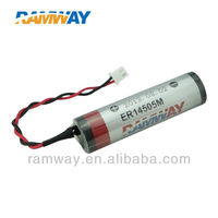 Automotive Electronic dry cell ER14505M Alarm system backup battery