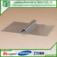 5 inch high quality aluminum heat transfer plate for tubing