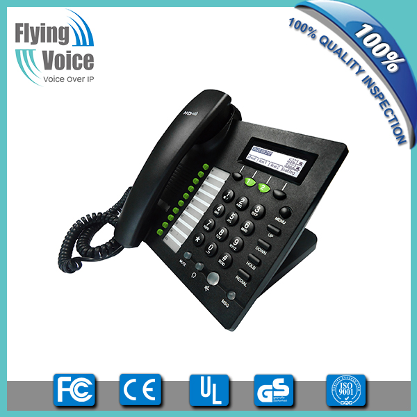 2016 new style! Flyingvoice own brand products wired sip desk phone with vpn, best cost-effective item IP622C, OEM welcome!