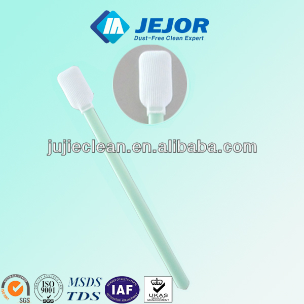 100% Polyester Cleanroom Swab With High Absorbency