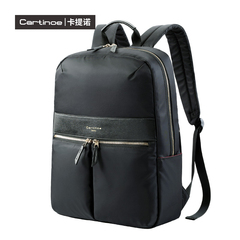 cartinoe brand Unique quality Waterproof Nylon Durable Business Laptop Bag 15.4 Inch men's Computer Notebook Massager Backpack