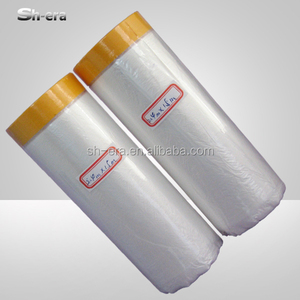 China mask film spray paint masking film for automotive ISO9001
