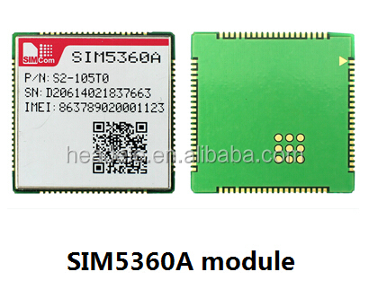 wcdma module simcom sim5360 with rich interfaces