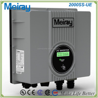 COMPACT SIZED ADVANCED 2000W MPPT SOLAR GRID-TIE INVERTER
