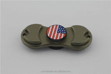 New Factory Price American Flag Design Hand Spinner Toys for Hand with Fingers