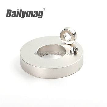NdFeB Ring Magnets, Permanent Sintered Neodymium Magnet