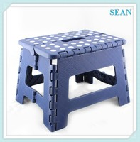 Factory plastic white kitchen stools with non-slip mat ningbo sean
