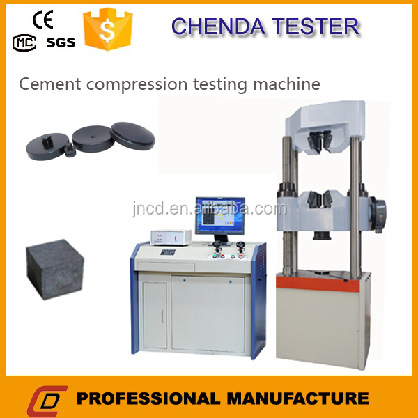 WAW-600C Brick compression testing machine with Fully automatic control+ Worm gear transmission