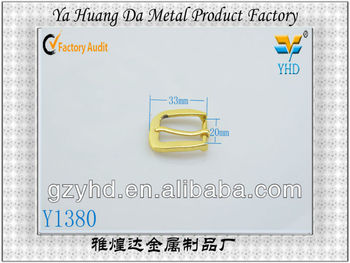 fashion metal pin belt buckle parts