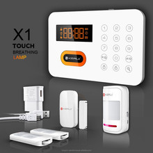 120 wireless zones PSTN wireless smart home automation alarm system