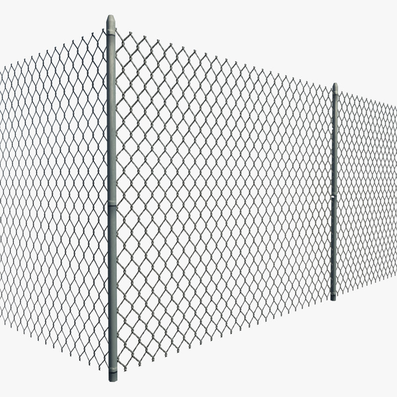 YS factory galvanized or black PVC coated chain link mesh fence/chain link netting