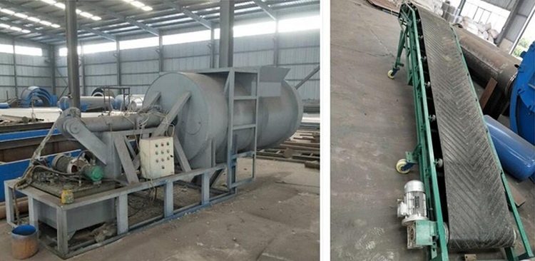 HOT!! Tyre recycling machine waste tire pyrolysis machine to fuel oil