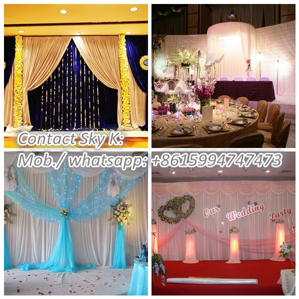 pvc pipe and drape wedding backdrops curtain and drapes for sale
