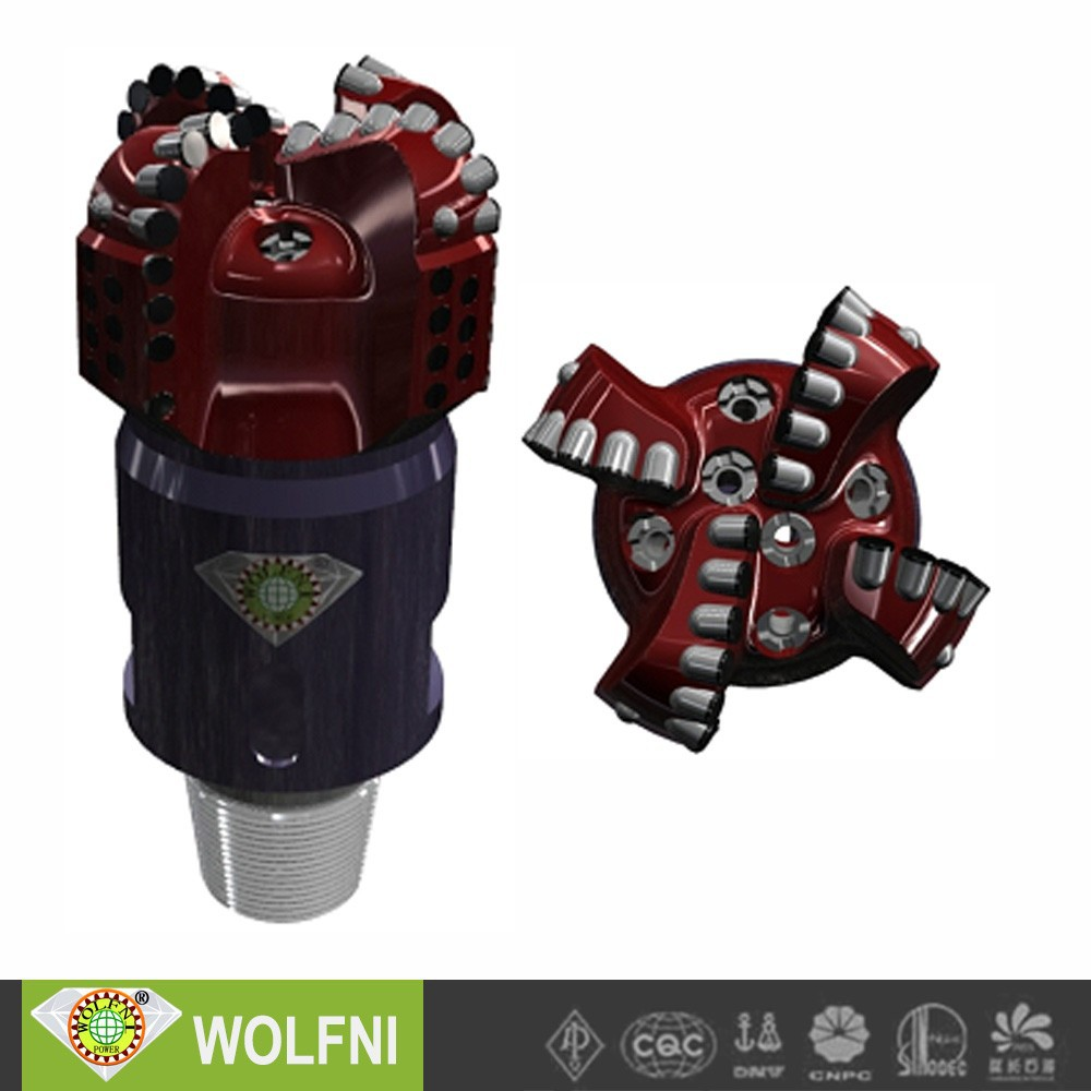 WOLFNI water well bit with PDC cutters/bosch hammer drill price