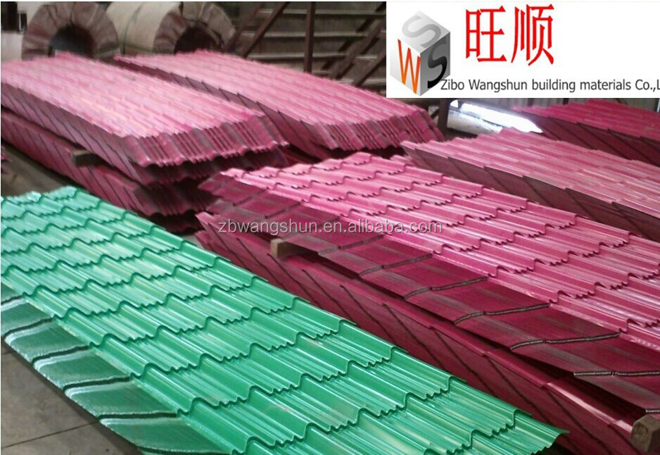 Lightweight Construction Materials Decking Corrugated