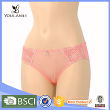 New Design Comfortable Young Lady Spandex Different Types Of Girls Underwear
