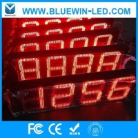 LED manufacturer standard size 8 inch 7 segment display led