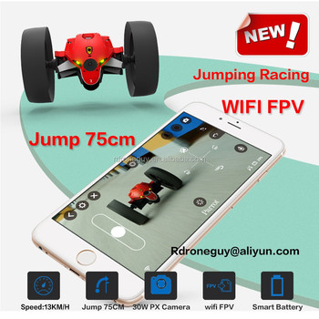 2018 hot sale parrot mini racing jump car 75cm with wifi fpv and mini selfie drone