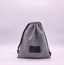 High Quality Drawstring Felt Glasses <strong>Bag</strong> With Logo