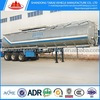 supplier double axle 36000 litres fuel tanker semi trailer with rail tyre