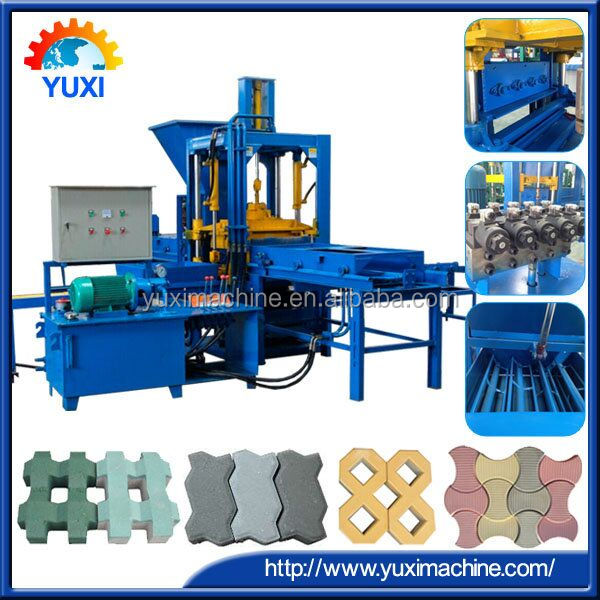 Innovative New Products QT10-15 Automatic concrete hollow block machine