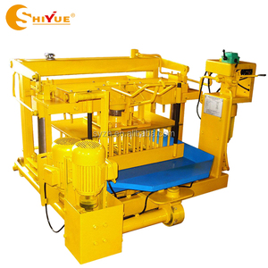 low investment high profit business qt40-3 brick machine QMY4-30 manual brick making machine in india