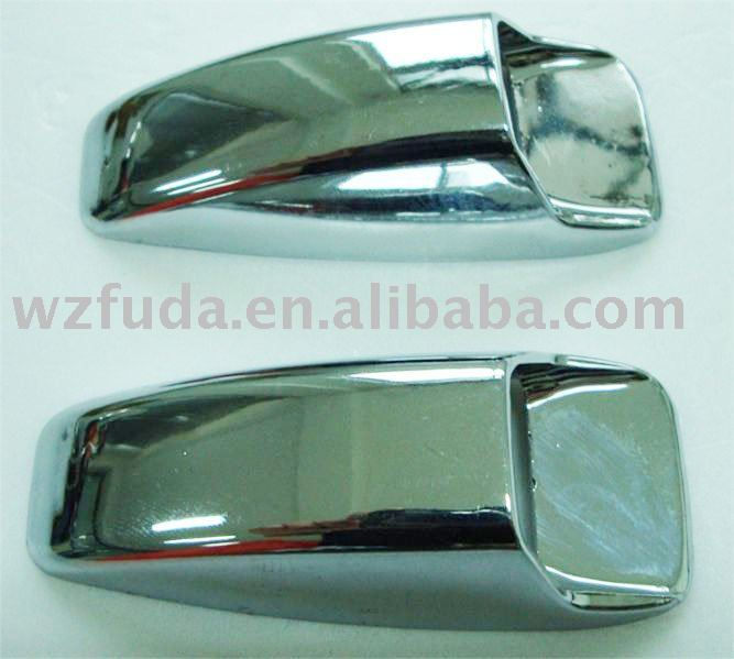 car badge, plastic chrome emblem,