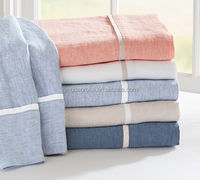 Pure linen sheet set