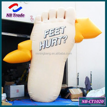 NB-CT1020 NingBang hot selling giant inflatable foot for outdoor advertising