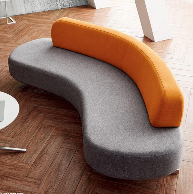 Leisure Fabric Sofa Furniture B&b Italia Design Moon Curved Sofa Mixed  Colours Sofa Sets Settee - Buy Half Moon Sofa,Curved Sofa,Fabric Sofa  Furniture ...