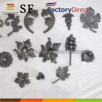 manufacturing decorative metal art flowers ornamental cast iron