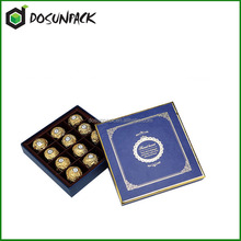 Hot selling chocolate packaging boxes
