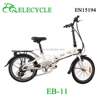 ELECYCLE mini pocket folding electric bike for sale with lithium battery
