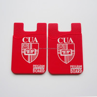 China supply new design cell phone card case smallest wallet
