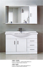 middle east high gloss PVC and MDF bathroom cabinet / furniture / vanity