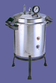 Portable Autoclave Single Drum