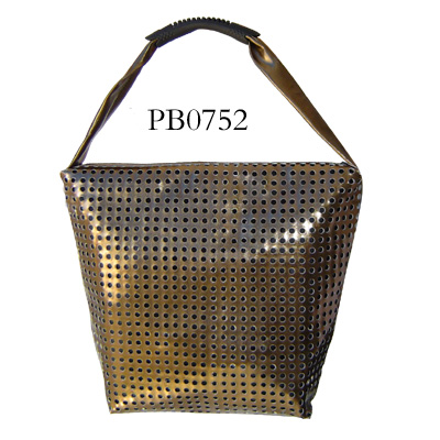 Popular Western Style Wholesale China Leather Bag sequins tote bag