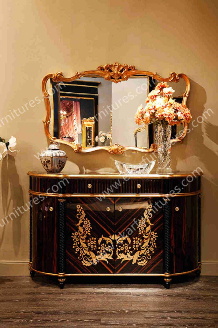 Alibaba Wholesale Dining Room Furniture Classic Wooden Sideboard