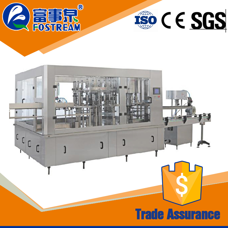 Easy operation automatic water plant machinery cost/ water purification and filling machine