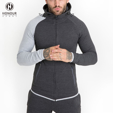 High Quality Fitness Clothing Customized 2 Piece Men Jogging Pants Sports Hoodie Slim Fit Gym Training Tracksuits