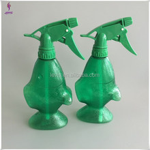 320ml empty plastic fish shaped trigger sprayer bottle