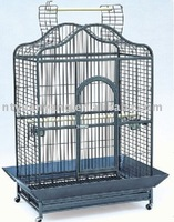 luxurious bird parrot cage dark blue color body supplier