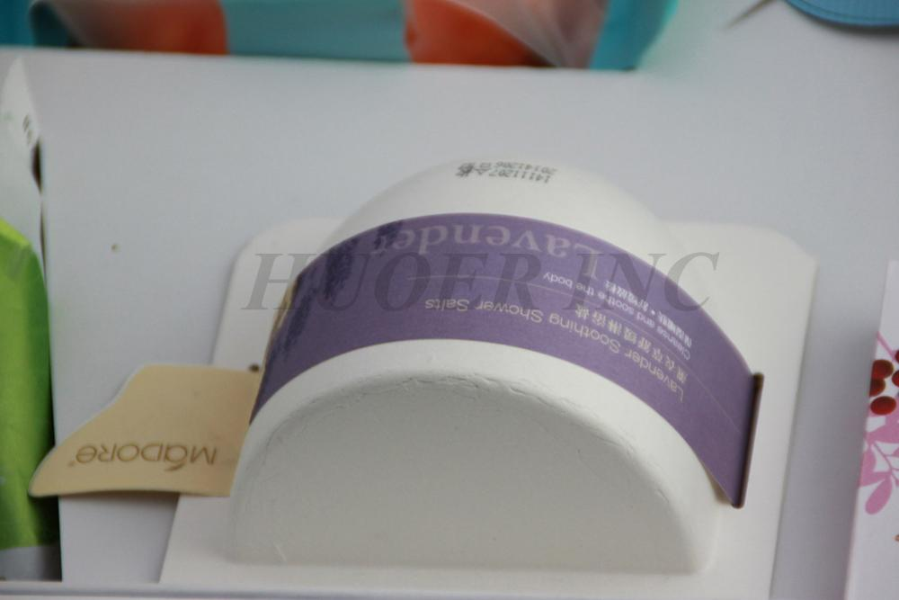 Biodegradable Molded Sugarcane Pulp Cosmetic Packaging