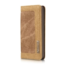 Luxury Leather Cover Flip Wallet Card Slot Stand Display Case for iPhone 5
