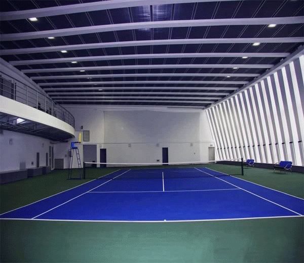 Sports Vinyl / Plastic Flooring Surface for Tennis/Basketball Court