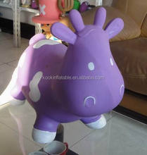 kids cow hopper inflatable cow jumping animal toys