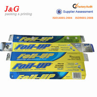 $50000 Trade Assurance! Custom made 2016 hot selling aluminium foil paper box wholesale