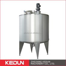 Food Grade Processing Equipment SS304 316L Pressure Milk Sauce Cooking Tank